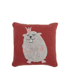 BLOOMINGVILLE Cushion, Rose, Cotton Innredning Til Hjemmet Rosa BLOOMINGVILLE