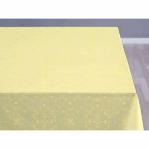 Södahl Duk 140x180 Easter paper gul