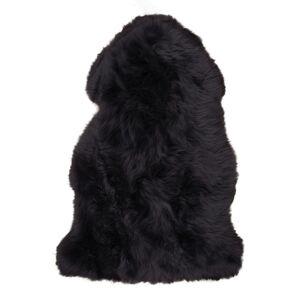 Lammeskinn i svart 50x85 cm