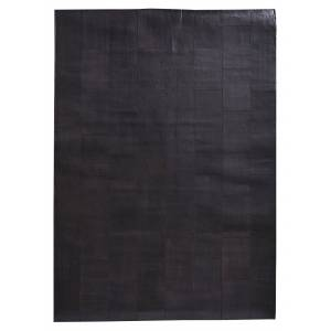 Fuhrhome Rabat Teppe - Mørkebrun Lær, 180x120