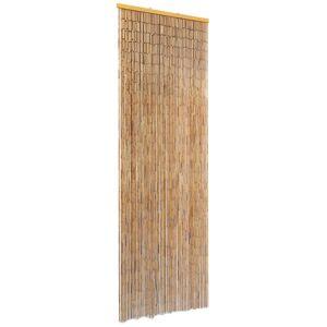 vidaXL Insektdør gardin bambus 56x185 cm