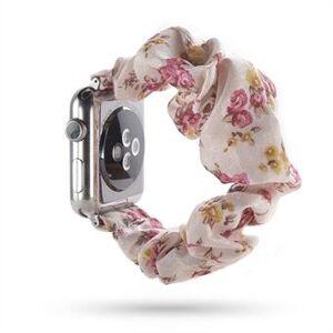Apple Mönstertryck Handdukarmband för Apple Watch Series 6/5/4 / SE 40mm / Series 3/2/1 38mm