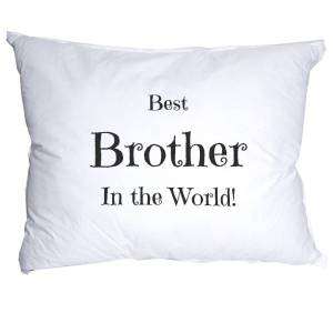Brother Best Brother in the World Örngott