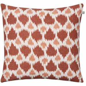 Chhatwal & Jonsson Assam Kuddfodral 50x50 cm, Apricot Orange/Rose