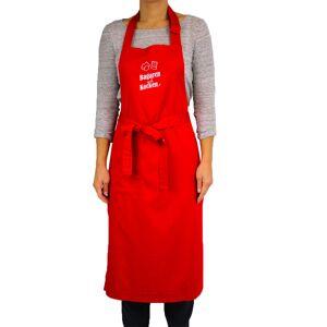Bakeren og Kokken Bagaren och Kocken Bröstlappsförkläde Röd