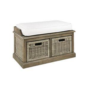 Artwood Cubu bänk två lådor inkl kudde Artwood