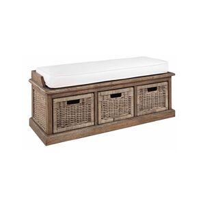 Artwood Cubu bänk tre lådor inkl kudde Artwood