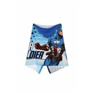 Captain America Avengers Captain America Badponcho