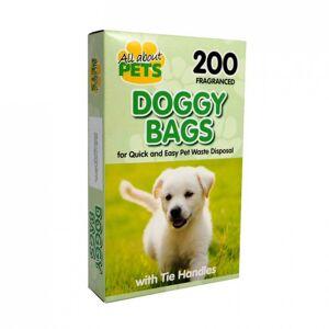 Fragranced Doggy Bags 200 stk Dyretilbehør
