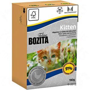 Bozita 12x190 g Bozita Feline Kitten Kattemad