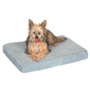 zooplus Exclusive Hundeseng Memory firkantet, grå 100x65x9,5 cm