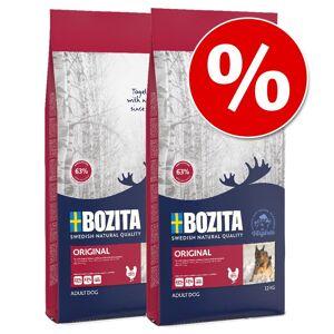 Bozita 2x10 kg Bozita Naturals Light Hundefoder