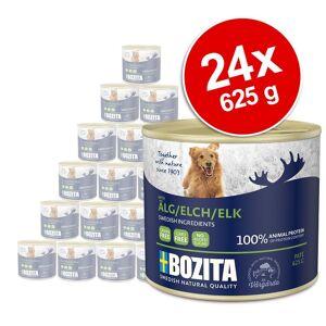 Bozita Økonomipakke: 24 x 625 g Bozita Paté Dåse - Rensdyr