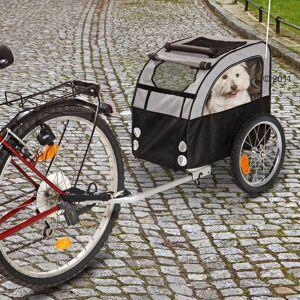 zooplus Exclusive Cykeltrailer No Limit - Doggy Liner 2 - Kobling til forskellige cykler