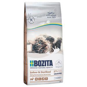 Bozita Indoor & Sterilised Rensdyr - Kornfri - 2 kg