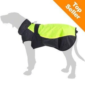 zooplus Exclusive Hunde-regnjakke Illume Nite Neon 50cm ryglængde