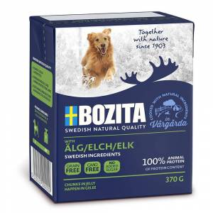 Bozita 6x370 g Bozita Naturals Bidder Laks Hundefoder