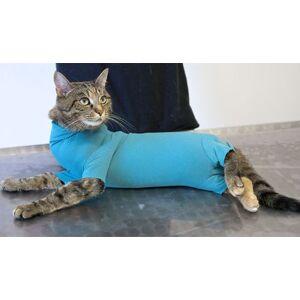 Kivuton Verkkokauppa ja Eläintohtori VetMedCare toipilaspuku kissalle TARJOUS -15% XS+