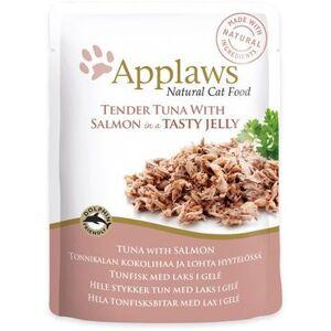 Applaws Kissa Tonnikala & Lohi Jelly 16 x 70 g