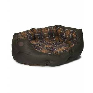 Barbour Wax Cotton Dog Bed 30' Olive