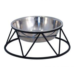 Dogman Stilig hundeskål med stålstativ med antiskli