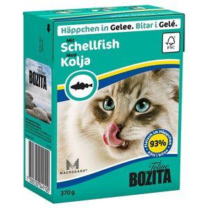 Bozita Økonomipakke Bozita biter i gelé 24 x 370 g - Laks og blåskjell