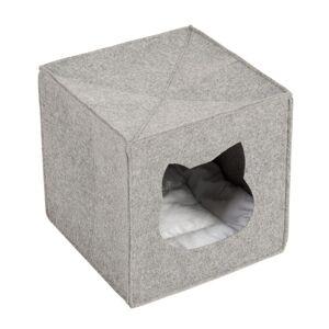 zooplus Exclusive Kattehule for hyller, av filt - L 33 x B 33 x H 33 cm