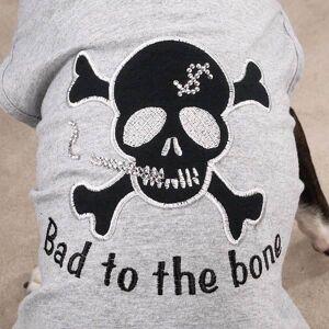 Zack & Zoey Bad Dog Tees - Grå