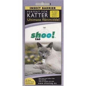 Shoo!Tag Mot Flått Til Katt