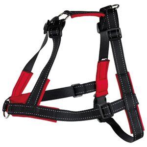 TRIXIE Sele Lead'n'Walk Soft størrelse L-XL 65-105 cm svart 13057