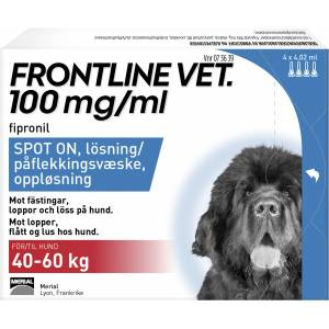 Frontline Vet 100 mg/ml spot-on 4 x 4,02 ml