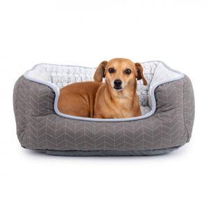 Basic Comfy Hundbädd Grå (M)