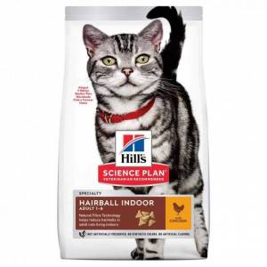 Hill's Science Plan Cat Adult Hairball & Indoor Chicken (1,5 kg)