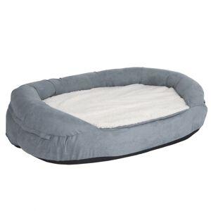 bitiba Memory oval hundsäng, storlek S - Storlek S: L 72 x B 50 x H 20 cm