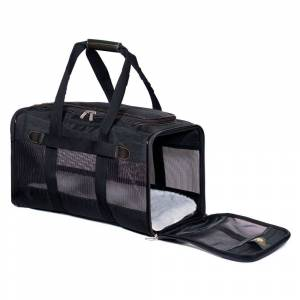 bitiba Sherpa® Original Deluxe Pet Carrier - Stl. L: ca. L 48 x B 30 x H 29 cm – upp till 10 kg