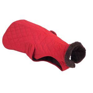 bitiba Steppmuster hundjacka - ca 70 cm rygglängd