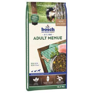 Bosch Dubbelpack bosch Adult - 2 x 15 kg Adult Menue