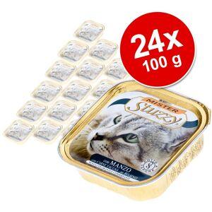 Stuzzy Ekonomipack: Mister Stuzzy Cat 24 x 100 g - Skinka