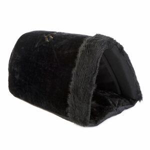 bitiba Royal Pet Black XXL hund / kattigloo - Storlek XXL: L 50 x B 35 x H 28 cm