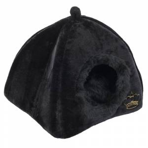 bitiba Royal Pet Black Hundigloo / Kattigloo, Storlek XS - B100 x D75 x H30 cm