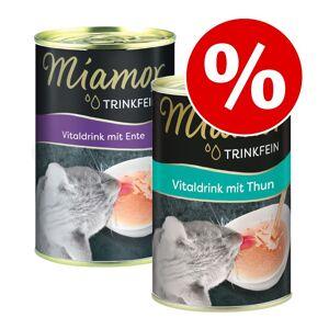 Miamor Testa nu! 2 x 135 ml Miamor Trinkfein Vitaldrink (2 sorter) till sparpris - Provpack: 2 x 135 ml (2 sorter)