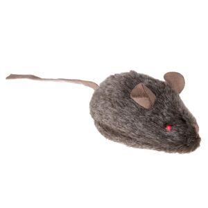 bitiba Kattleksak Wild Mouse med ljud och LED - 3 st
