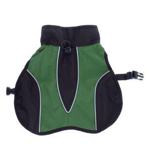 bitiba Hundtäcke av softshell ca 35 cm rygglängd grön