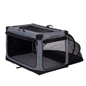 bitiba Pet Home portabel transportkoja - Stl M: B 50,5 x T 76 x H 48 cm