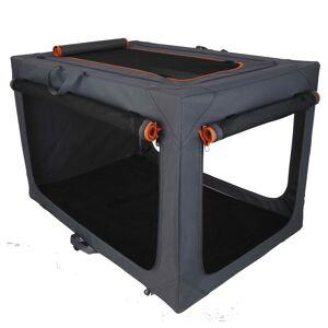 bitiba Alu Deluxe nylonbur, vikbar - Stl. M: B 50,5 x D 76 x H 48 cm