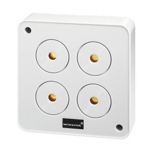 MONACOR Piezoalarm 2-tonet AP-4 TILBUD NU sirene alarm piezo siren