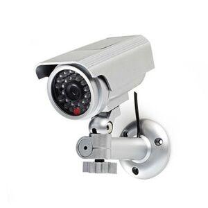 NEDIS, Dummy overvågningskamera IP44 Bullet Sølv