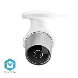 24hshop Wi-Fi smart IP-kamera ulkokäyttöön - vedenkestävä ja Full HD 1080p