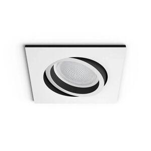 Philips Hue Centura Recessed White Squared Bluetooth - Philips Hue  hvit  +90 mm