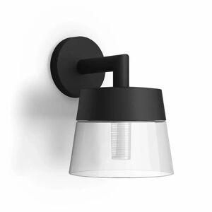 Philips Hue Attract Hue White & Color Ambiance Utendørs Vegglampe - Philips Hue  klar svart